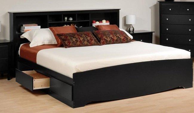mẫu giường có ngăn kéo tại hà nội