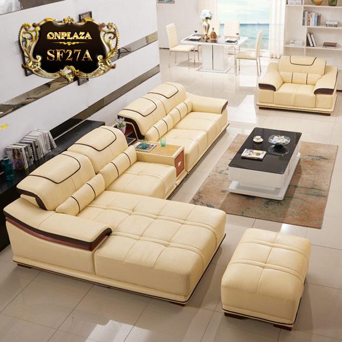 Ở đâu bán sofa da cho phòng khách nhỏ tại Vũng Tàu