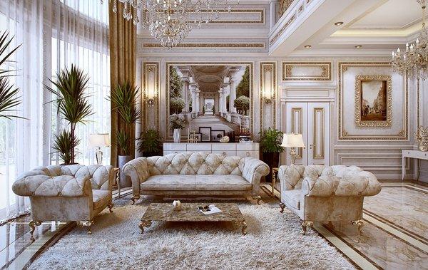 Top 7 các mẫu bàn ghế sofa tân cổ điển châu đẹp đẹp nhất 2018