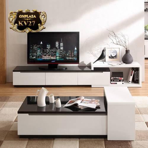 Tuyển tập các mẫu kệ tivi phòng khách bằng gỗ