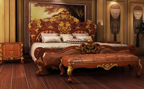 Top 10 các mẫu giường ngủ tân cổ điển đẹp sang trọng giá rẻ