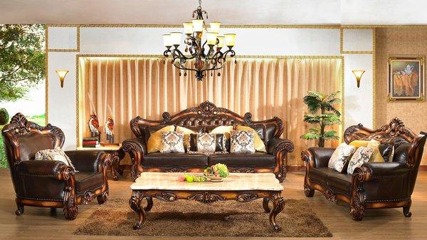 Ấn tượng với mẫu sofa thiết kế theo phong cách hoàng gia sang trọng PN41